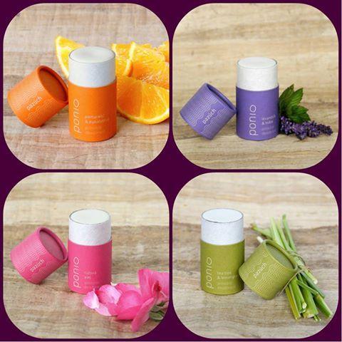 Predstavujeme Vám našu tohtoročnú novinku! Prírodné dezodoranty-tzv. PAZÚCHY od firmy Ponio. Na výber máte 4 druhy. Dostanete v našich predajniach v Bratislave