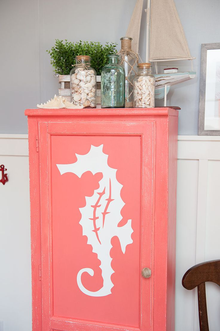 Coastal Furniture Makeover With Country Chic Paints