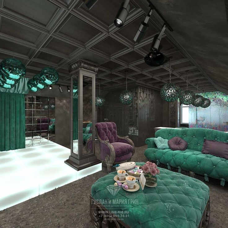 Дизайн мансарды в частном доме. Диванная зона http://www.line-mg.ru/dizayn-doma-s-mansardoy-vnutri-foto