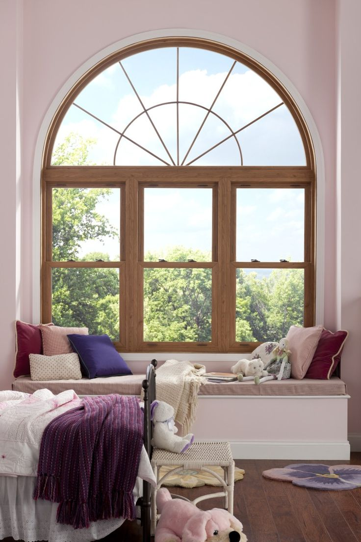 14 best windows styles simonton windows images on for Arched bay windows