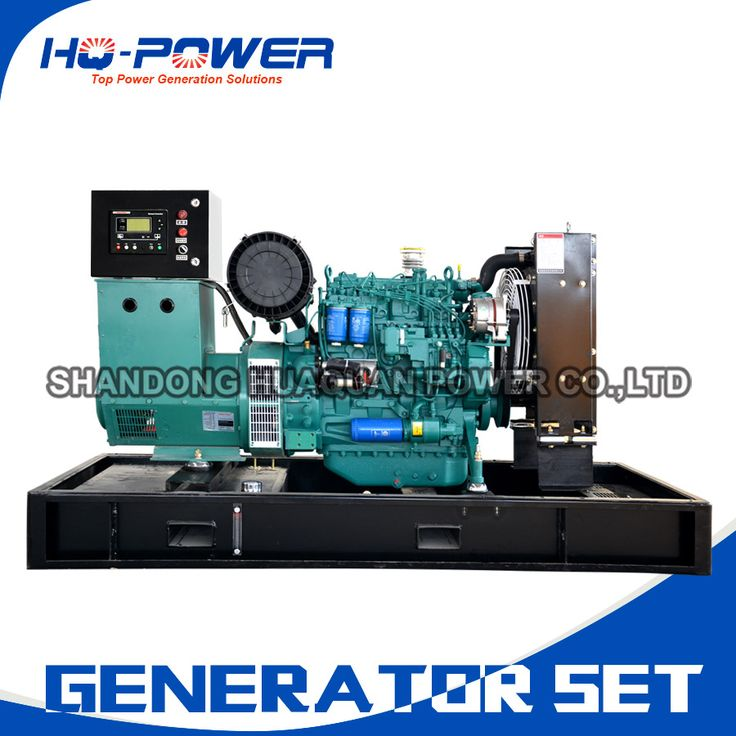 pto small water cooled magnetic motor electric 50kw low fuel consumption diesel generator