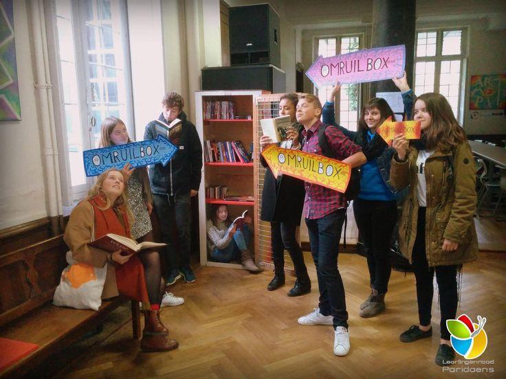 De Omruilbox van de leerlingenraad van het Paridaens in Leuven!