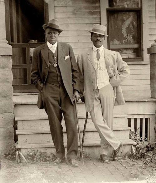 Two dapper men in Lincoln, Nebraska: Historic photographs of black Lincolnites in the early 1900s — taken by a black photographer — will hang in the new National Museum of African American History and Culture in Washington