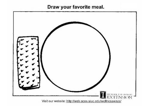 kleurplaat gezonde voeding werkblad gezond voeding en