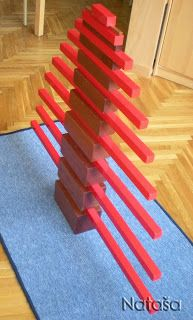 Butterfly - Montessori Blog: Red billets / The Red Rods