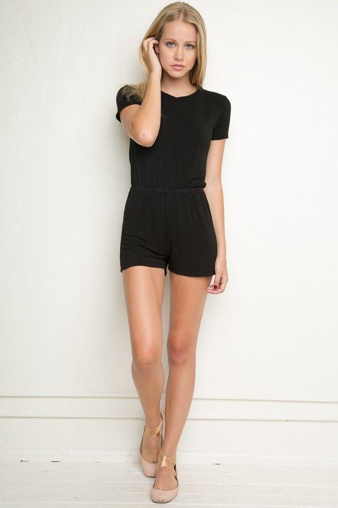 Brandy ♥ Melville | Bianca Romper - Dresses - Clothing