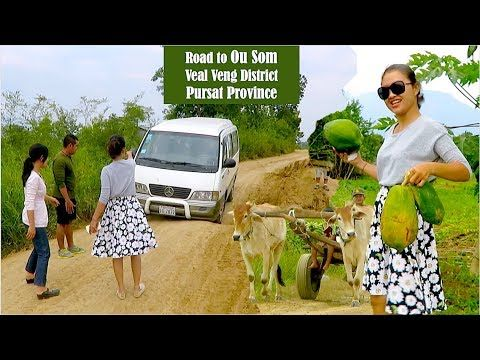 Travel to O'Soam Ecotourism Community at Veal Veng district in Pursat Pr...