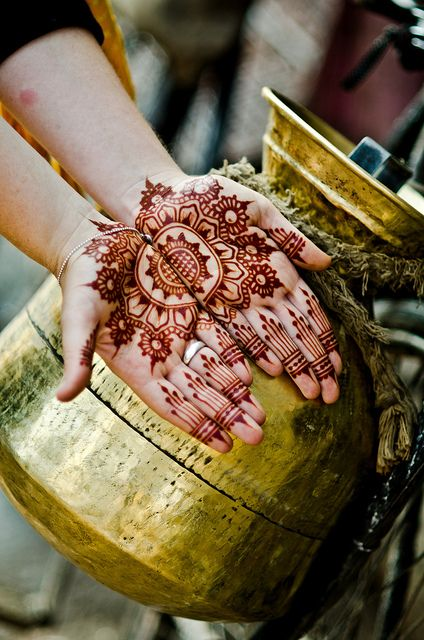 Mehndi and Milk Jug by B.Bubble, via Flickr