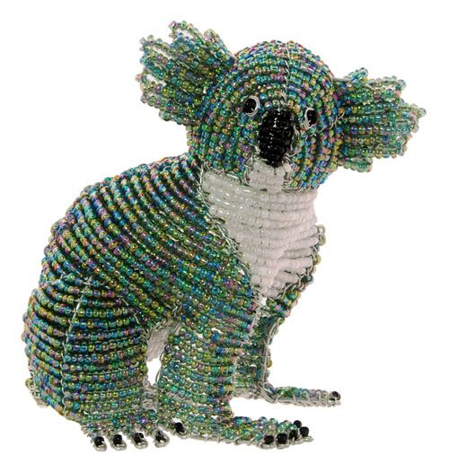 This is the latest and hottest from Wireworx African fair trade beaded animals. …