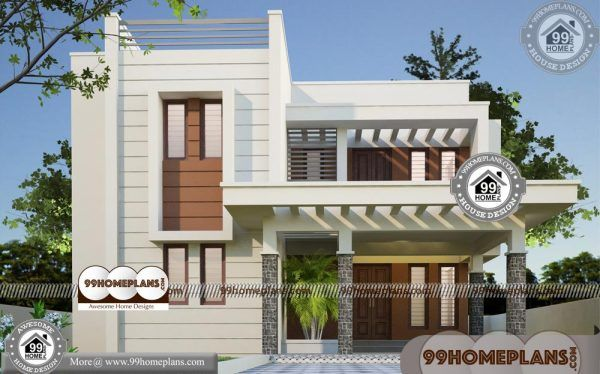 Modern House Plans Kerala Style 70 Modern Double Storey House Plans Small House Elevation Design Double Storey House Plans House Front Design