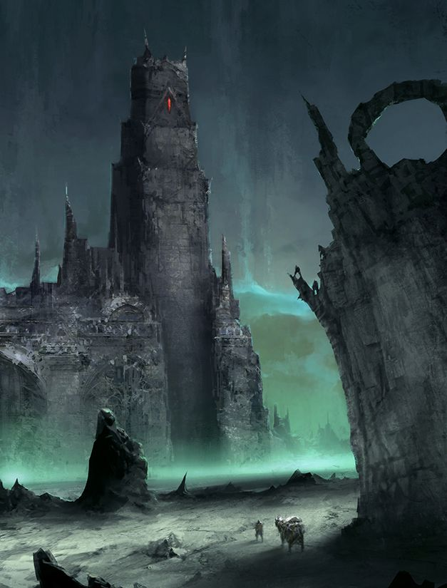 fantasy art wizard castle - photo #14