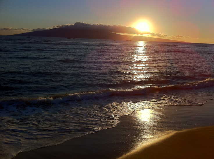 View of the Island of Lanai (taken from Lahaina, Maui).