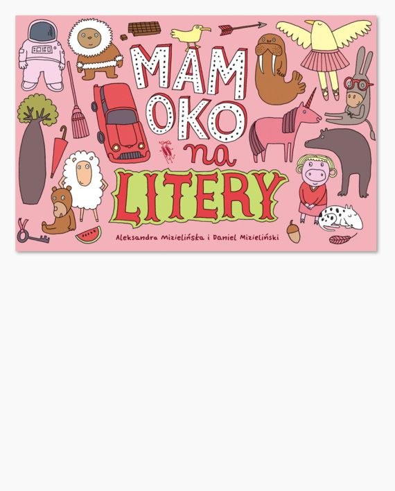 """Zupełnie nowa odsłona cyklu """"Mamoko"""": pomysłowa książka obrazkowa do zabawy w wyszukiwanie słów."""