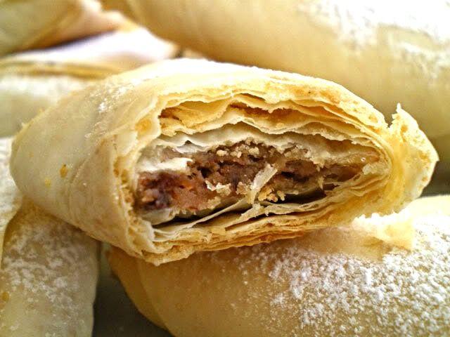Μπουρεκάκια με Φρέσκα Σύκα (Incirli Borek)