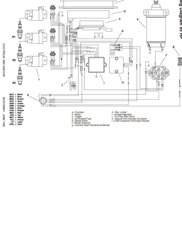 50 Wiring Diagram For Mercury Outboard Motor Yc0r
