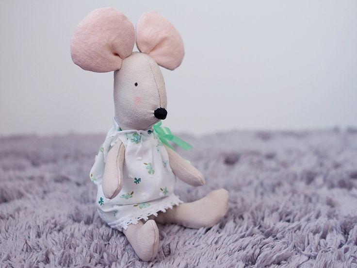 Zabawka - maskotka Mysia Pysia w Manufaktura Domowa na DaWanda.com