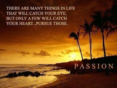 """""""There are many things in life that will catch your eye, but only a few will catch your heart...pursue those."""" ~ Michael Nolan"""