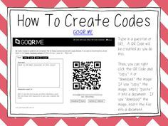 Primary Junction: Using QR Codes in the Classroom - Part 1: What Are QR Codes?