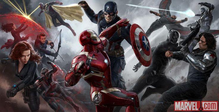 """Nowy zwiastun filmu """"Kapitan Ameryka: Wojna bohaterów""""! Prezentujemy pełny zwiastun filmu """"Kapitan Ameryka: Wojna Bohaterów""""! Sporo nowych scen i kilka spektakularnych akcji. Nie zabrakło długo wyczekiwanego gościa!"""