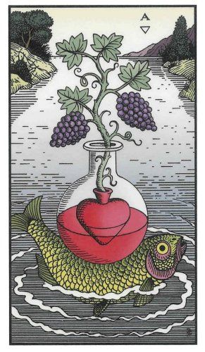 Alchemical Tarot Minor-Cups-Ace