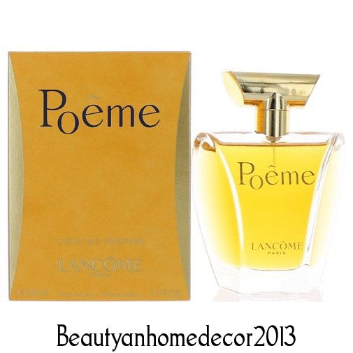 Poeme Perfume by Lancome 3.4 oz L'Eau De Parfum Spray for Women SEALED NIB