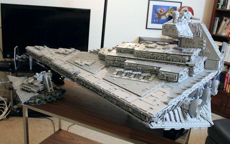 Star Wars : Ce Destroyer stellaire en LEGO est tout simplement… Impérial