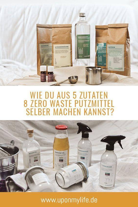 8 Zero Waste Waschmittel aus 5 Zutaten – Weniger Abfall im Haushalt   – Nachhaltig leben & wirtschaften: Ideen, Anregungen & Tipps