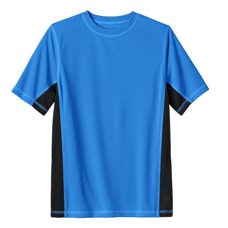 Boys 8-20 Hang Ten Rash Guard Tee, Blue (Navy)