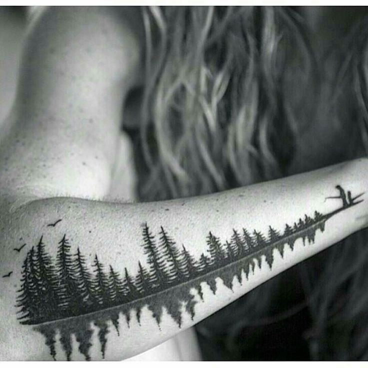 Image result for wildlife forest scenery tattoos