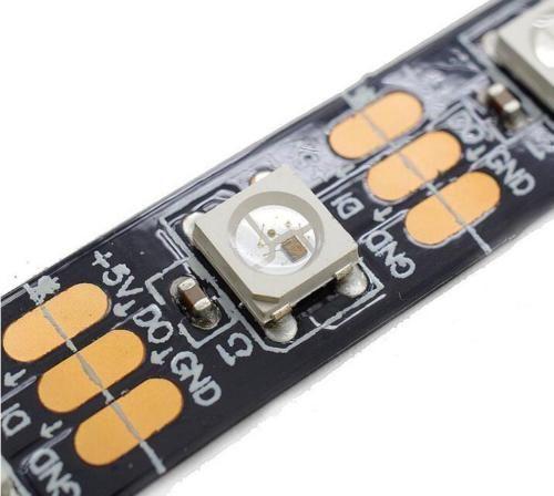 1M / 5M WS2812B WS2801 WS2811 LED RGB-Streifen-Licht 5050SMD RGB Farben  5V 12V  | Möbel & Wohnen, Beleuchtung, Lichtschläuche & -ketten | eBay!