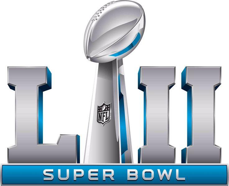super bowl primary logo (2017) - super bowl lii (52) logo, game to