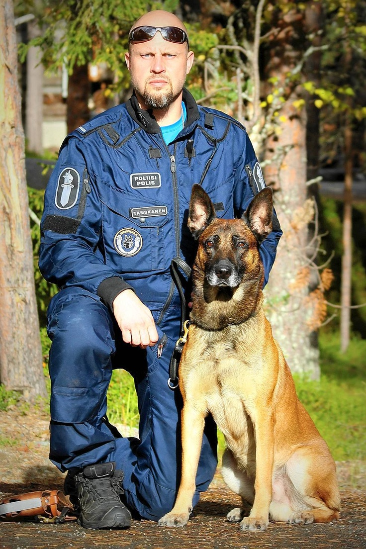 Best Finnish police dog & his master Jan Tanskanen. Go Trex, go! - copslang.com