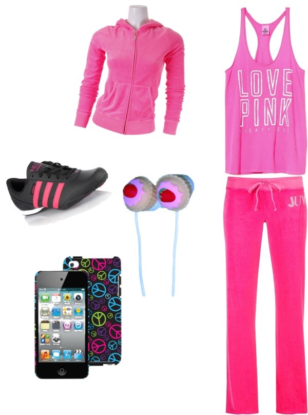 """Jogging Outfit"" by daretodreammxo on Polyvore"