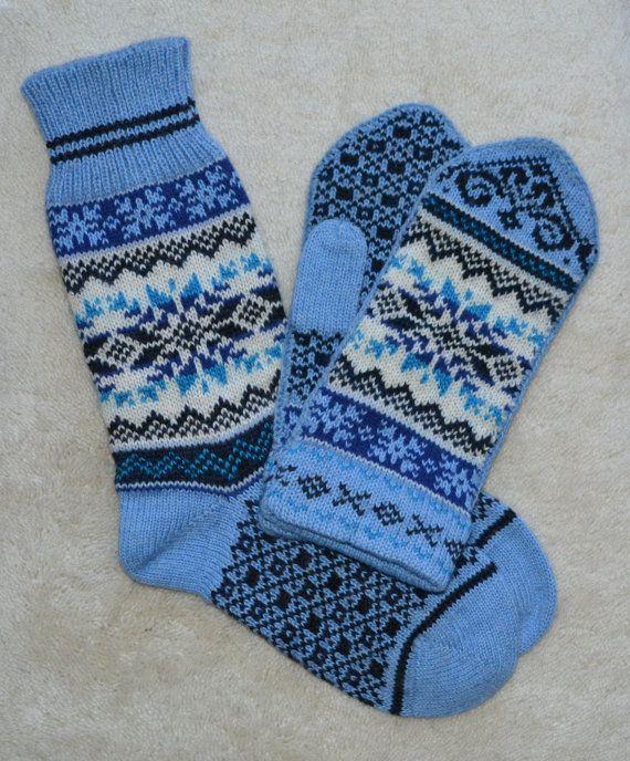 NORWEGIAN Scandinavian Hand Crafted 100 wool by NordicStarStudio, $51.00