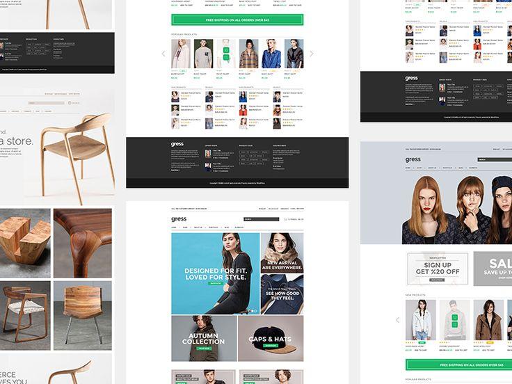 Gress E-Commerce Theme