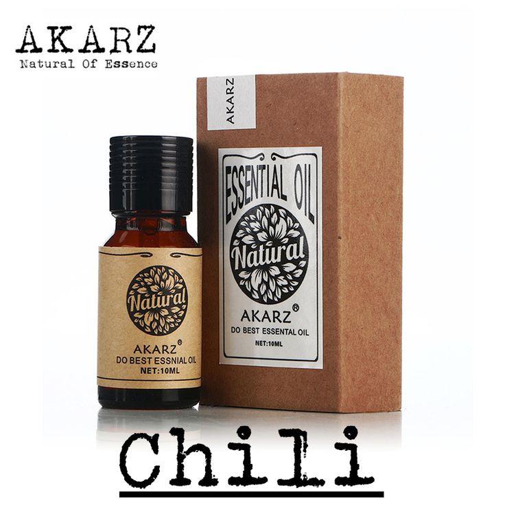 Famous brand AKARZ pure natural Chili essential oil Adjust the skin oil secretion Fade splash Eliminate acne Chili oil