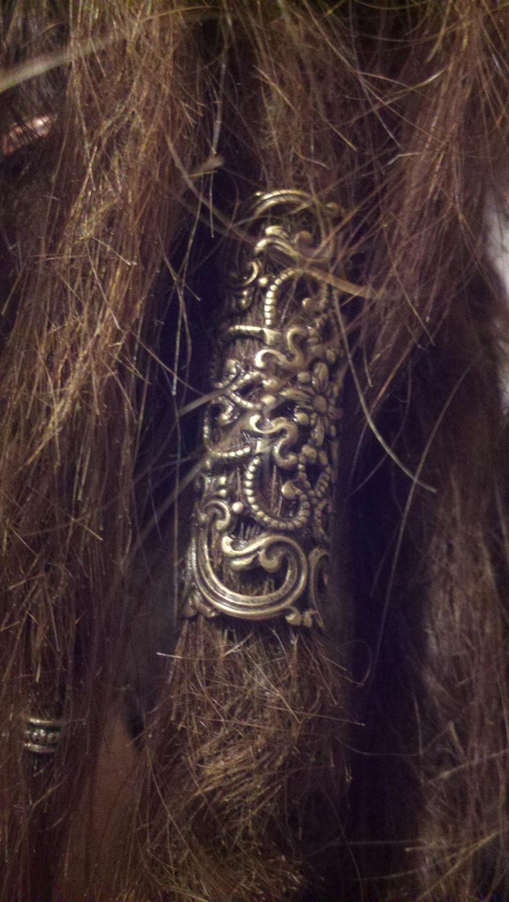 antiquie gold cuff - dreadspullen.com