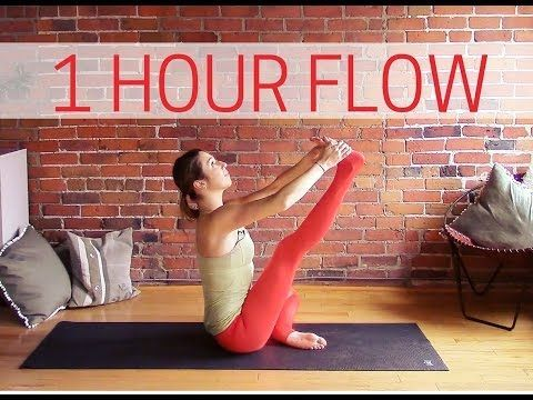 1 Hour Vinyasa Flow For Flexibility - 60 min Intermediate Yoga - YouTube