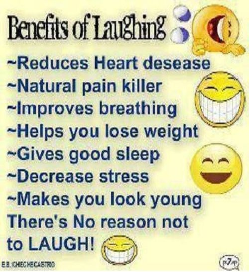 the benefits of laughing essay Jacquelyn smith forbes staff if it has to do with leadership, jobs, or careers, i'm on it share to facebook  why some businesses are laughing all the way to the bank.