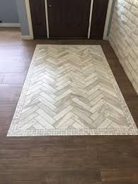 Resultado De Imagem Para Wood Flooring With Tile Inlays In