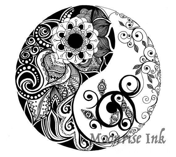 47++ Tatouage ying yang mandala ideas