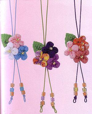 Japanese Chirimen Kits Charms, Key Chains
