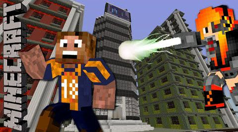 Quantum Labs Map - minecraft adventure maps : After moving to a big city you finally land yourself a new job as the intern at  ...  #adventure #maps | http://niceminecraft.net/category/minecraft-maps/