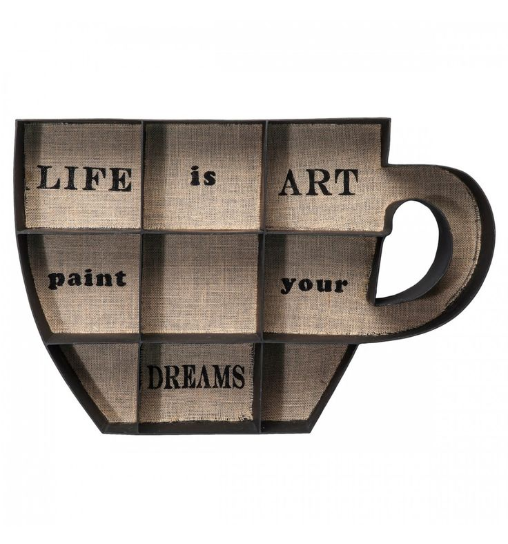 Mensola Cup Of Coffee Kare Design