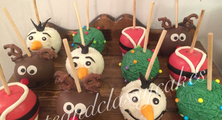 Christmas Candy Apples!