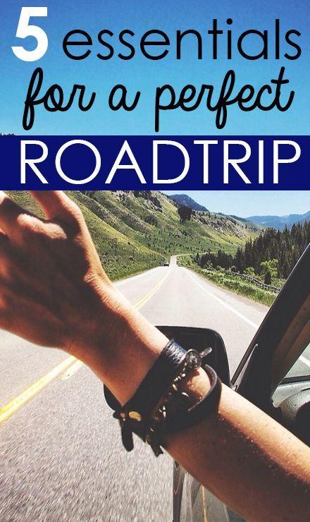 Road Trip Essentials #roadtrip #vacation