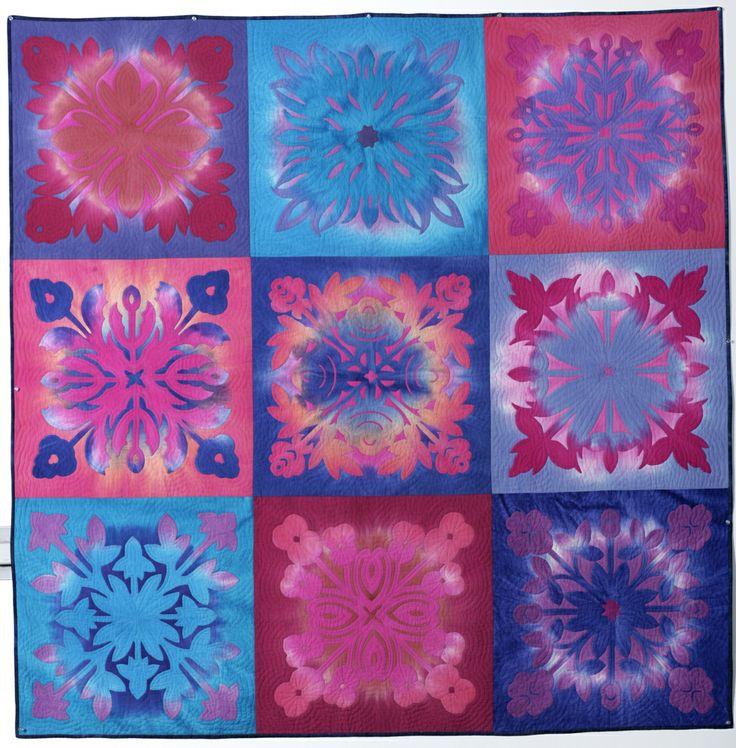 """""""Hawaiian Quilt"""" by HO Jang"""