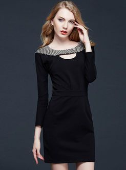 Shop for high quality Women Diamond Bead Cotton Tunic Dress online at cheap prices and discover fashion at Ezpopsy.com