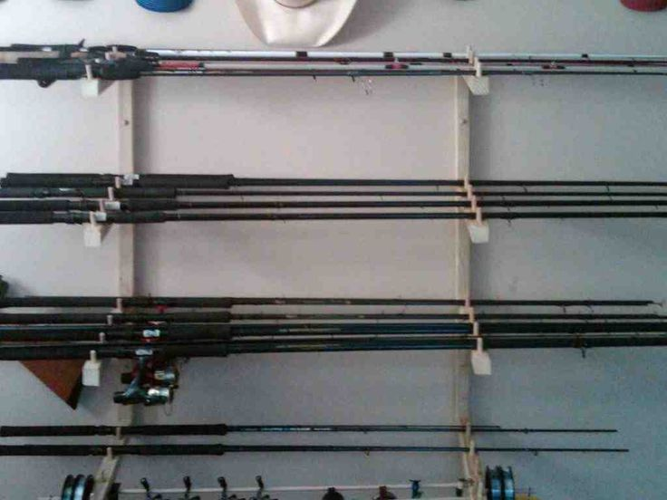 Wall mount fishing rod holders tv fishing rod holders for Wall fishing rod holder