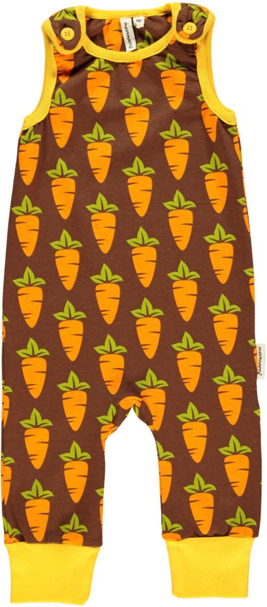 Maxomorra Carrot Dungarees -